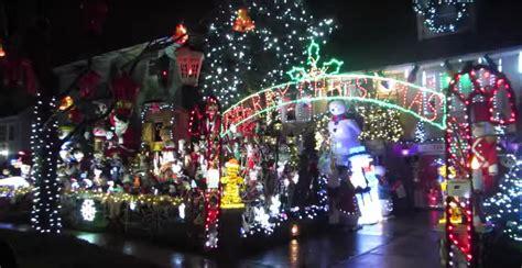 watch amazing staten island christmas light display