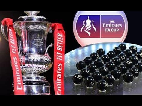 FA CUP QUARTER FINAL DRAW PREDICTIONS!!! - YouTube