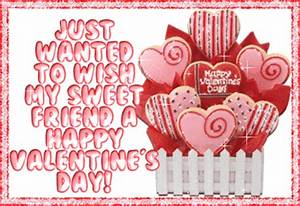 Happy Valentine's Day To My Sweet Friend Pictures, Photos ...