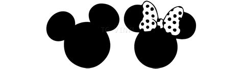 ebay bedroom 5 quot mickey minnie silhouette vinyl decal sticker car
