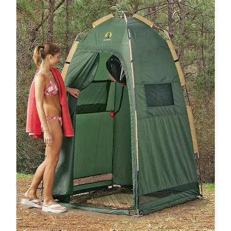 Walmart Camping Shower cabana shelter green 91038 screens amp canopies at