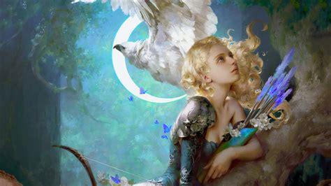innocent angel fairy tail  hd fantasy girls