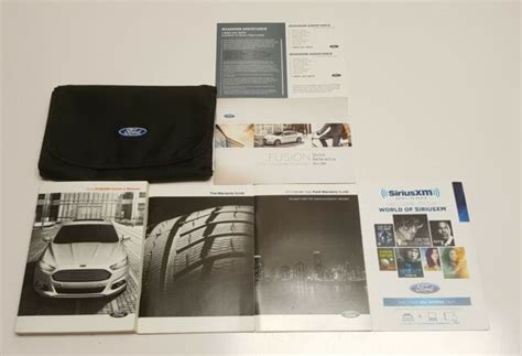 ford fusion navigation owners manual user guide  se