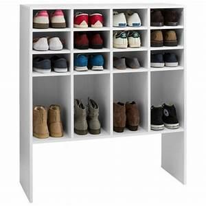 Etagère Et Casier à Chaussures : accessoires rangement chaussures ~ Dallasstarsshop.com Idées de Décoration