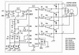 pic microcontroller programming stepper motor controller With controller wiring diagram further 4 wire stepper motor control on nes