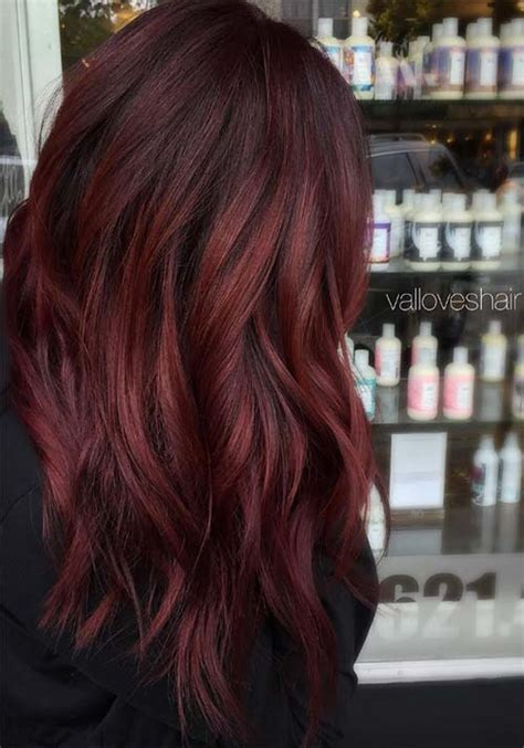 Pictures Of Hair Color Shades by 100 Badass Hair Colors Auburn Cherry Copper