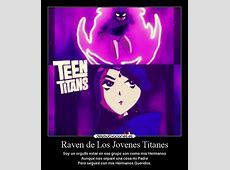 Raven de Los Jovenes Titanes Desmotivaciones