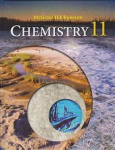 Mcgraw-hill Ryerson Chemistry 11 - Student Textbook