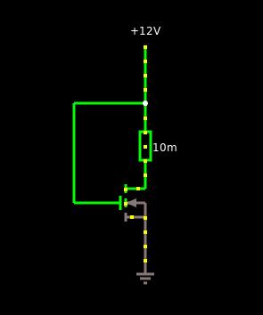 Voltage Basic Mosfet Circuit Simulation Results