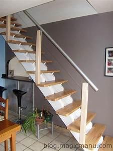 Rampe D Escalier Moderne : comment fabriquer une rampe d escalier moderne ~ Melissatoandfro.com Idées de Décoration