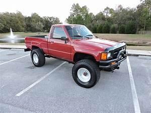1986 Toyota Pickup 4x4 Short Bed 3 0 V6  U0026quot Tonka U0026quot  Show