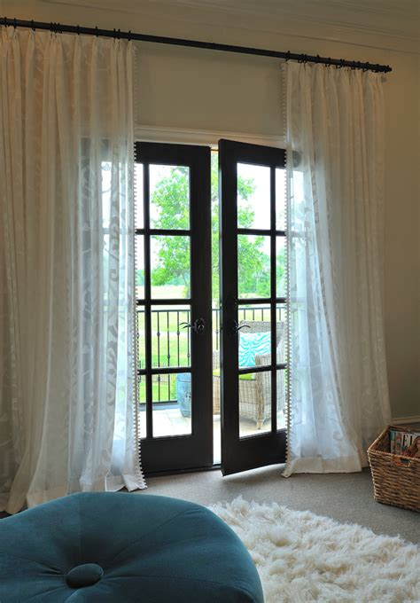 patio door curtain ideas patio mediterranean with beige