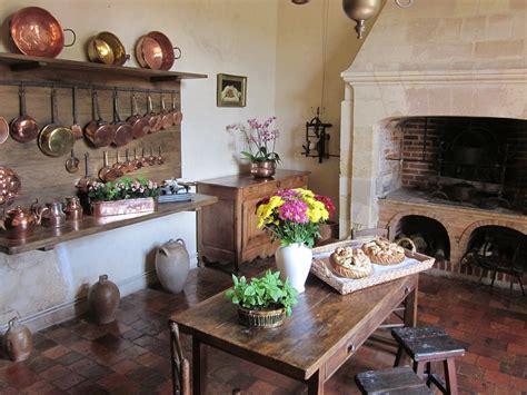 cuisine renaissance free photo villandry chateau kitchen free image on