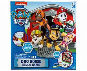 paw patrol dog house bingo game great daily deals at With dog house games