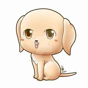 Commission - Chibi Dog by Kirara-CecilVenes on DeviantArt