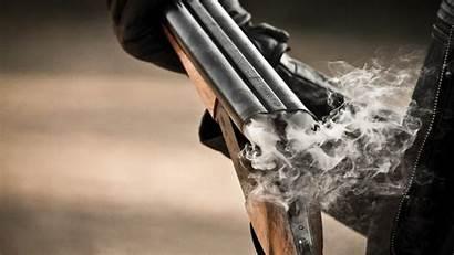 Shotgun Guns Ejecting Gas Desktop Webgranth Wallpapers