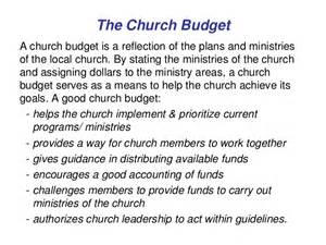 church programs templates 11 church budgeting