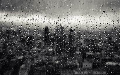 Rain Glass Window Drops Laptop Wallpapers Desktop