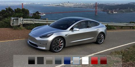2016 Tesla Model S Configurations by Tesla Says Model 3 Will Fewer Than 100 Configurations