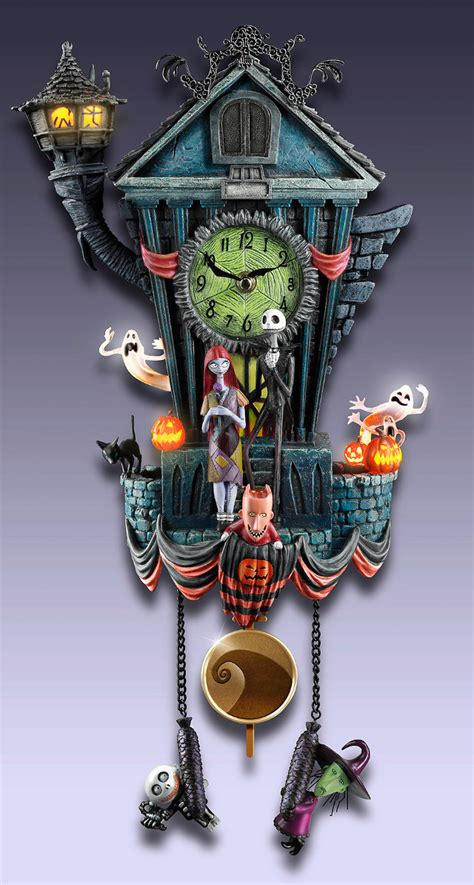 magnificent nightmare  christmas cuckoo clock