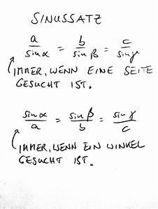 Seiten Vom Dreieck Berechnen : sinussatz ~ Themetempest.com Abrechnung