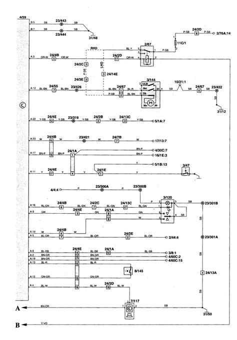 Volvo Parts Diagrams by Volvo C70 1998 2004 Wiring Diagrams Convertible