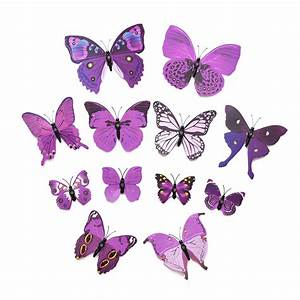 Aliexpress.com : Buy 12PCS 3D Butterfly Wall Stickers for ...