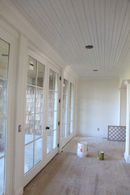 white dove walls  simply white trim  ceiling