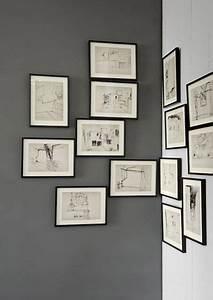 Accrocher Photos Au Mur Sans Abimer : 1000 id es sur le th me tableaux d 39 affichage d coratifs ~ Zukunftsfamilie.com Idées de Décoration
