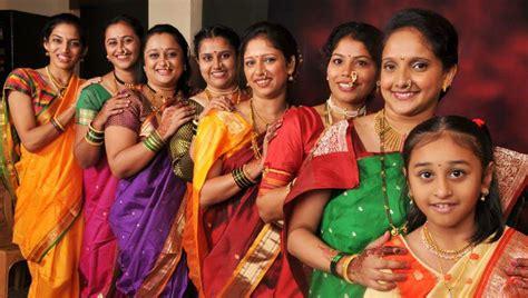 beauty  saris  maharashtra tanya munshis