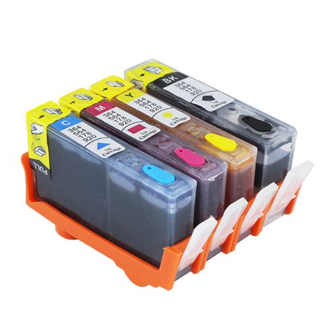 [refillable Ink Cartridge Set] For Hp 564 Xl Deskjet 3520