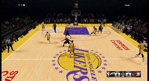 los angeles lakers staples center hd court nba