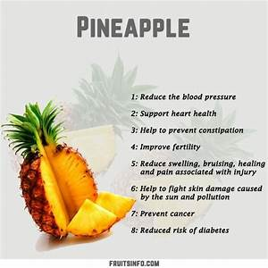 Pineapple Fruit Nutrition Facts Pineapple Salsa Recipe