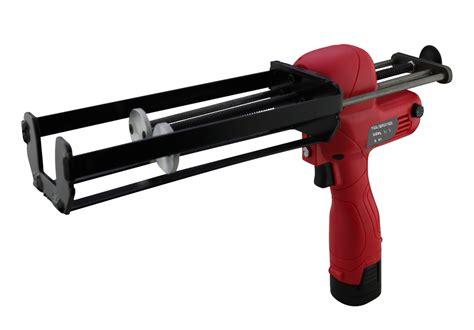 caulking gun 600ml 1 1 two component cordless caulking gun electric