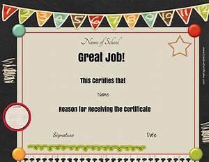 Attendance Template For Teachers Free School Certificates Awards
