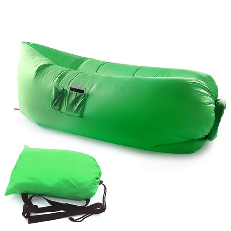 Camp Lounge Chair by Inflatable Hangout Lounge Chair Air Sofa Bag Outdoor