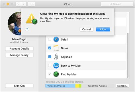 how to enable find my iphone disable find my mac by resetting nvram tidbits