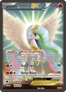 Celestia Pokemon Card Ex