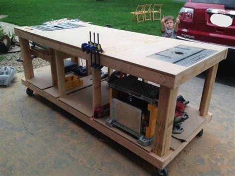 simple garage workbench plans woodworking projects plans