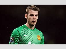Manchester United name David De Gea in their Champions