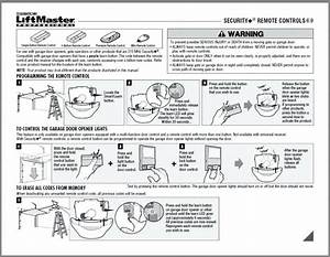 Liftmaster Garage Door Opener Diagram