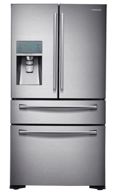 Counter Depth Refrigerator Dimensions Sears by Samsung Rf24fsedbsr 24 Cu Ft Counter Depth 4 Door