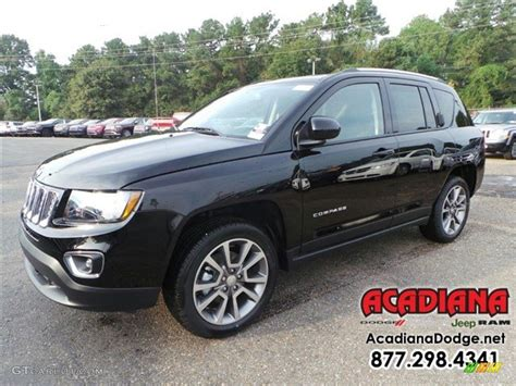 jeep compass 2016 black 2016 black jeep compass high altitude 110550274 photo 8