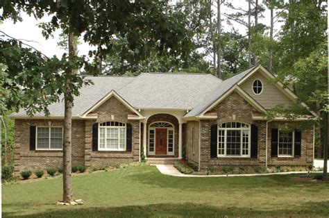 country french house plan front  home selkirk country