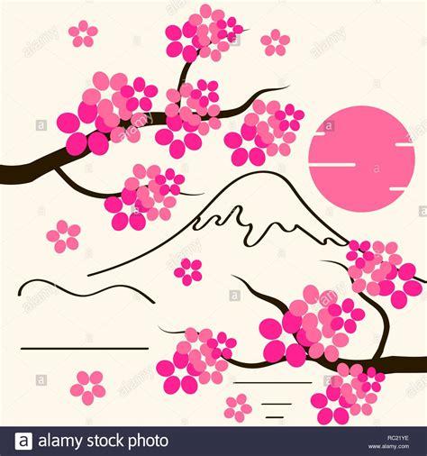 Fondo de Flor de Cerezo Sakura Flores rosadas en rama