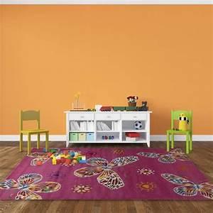 tapis colore pour chambre de bebe rose crianca achat With affiche chambre bébé avec tapis Í fleurs