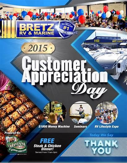 Appreciation Customer Poster Annual Bretz Rv Hosting