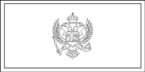Serbia Flag Coloring Page Coloring Pages