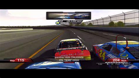 Nascar 09  Nice Moves From N2sc4r! Youtube