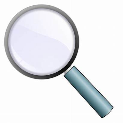 Clipart Magnifying Glass Clip Onlinelabels Computer Svg